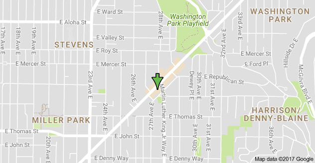 Map to 2719 E Madison St Seattle WA 98112